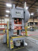 Bliss C-110 110 Ton OBI Press