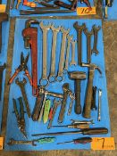 Lot of Assorted Hand Tools to include Hammers, Wrenches, Box Cutter, Etc.