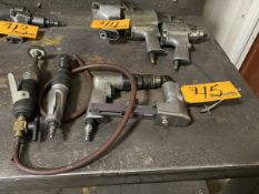 Assorted Pneumatic Tools (1) Ingersoll Rand Pneumatic Torque Wrench (1) Whitey 18000RPM Pneumatic