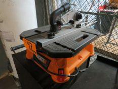 WORX WX572L Portable Table Top Saw [Loc: Church Hill]