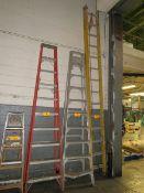 Extension Ladder Fiberglass, 30' [Loc: Church Hill]