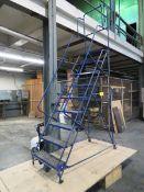 9-Step Mobile Staircase [Loc: Church Hill]
