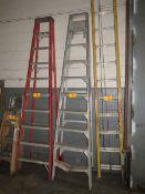 A-Frame Ladder Aluminum, 10' [Loc: Church Hill]