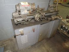 """Rockwell Lathe 36"""" Bed, 1"""" Through Hole, to Include: Steady Rest, (1) 6"""" 4-Jaw Chuck, (2) 5"""" 3-Jaw"""