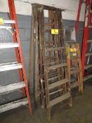 A-Frame Ladders Wooden, 6' [Loc: Church Hill]