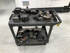 Large Quantity of Tooling for Mazak CNC Lathes (Comes w/ Cart)