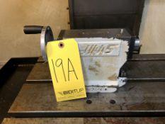 Haas Manual Tailstock