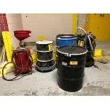 Various Oil Drums/Drains