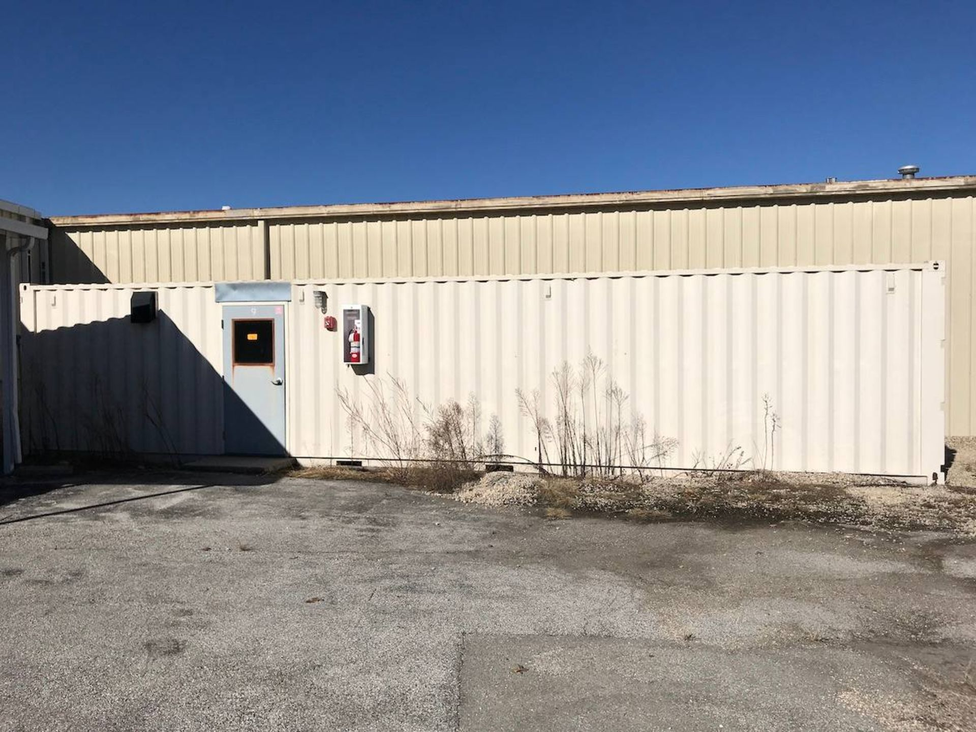 40-Ft. Lube Shed Container