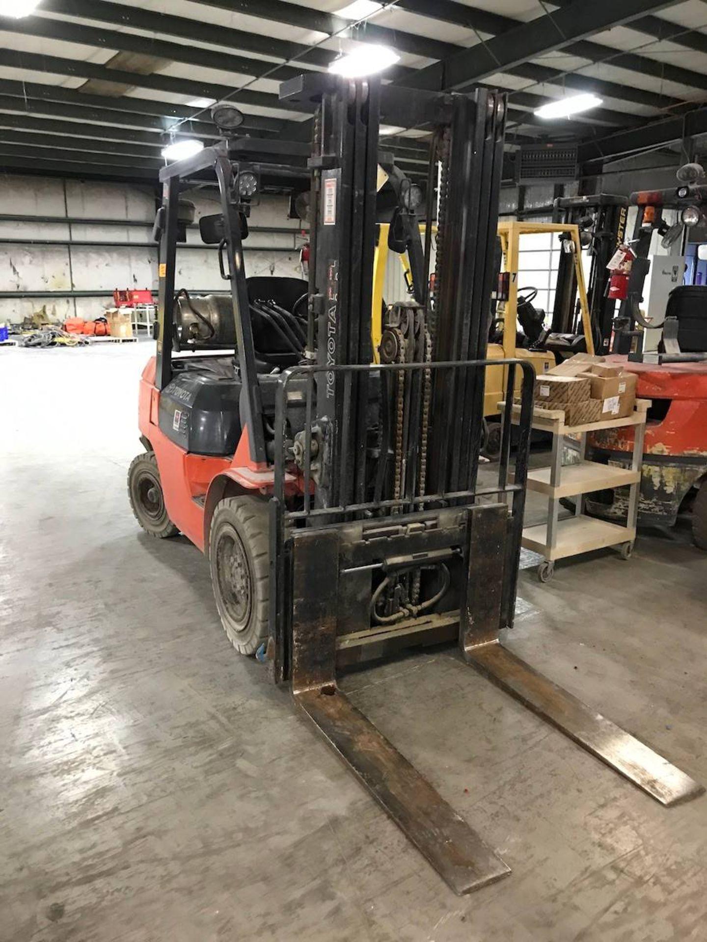 Toyota 7FGU30 Forklift Truck