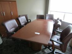 Boardroom Table with 8 Chairs