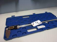 Digital Caliper In Case