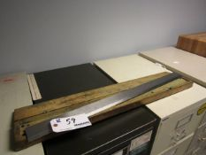 Percision Steel Straightedge