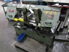 "King Industrials 10""x 16"" Metal Cutting Horizontal Bandsaw"
