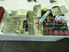 Assortment of Grinding and Brushing tools