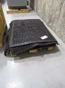 Skid of Rubber Machine mats