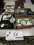 Assortment of Dial Gauges