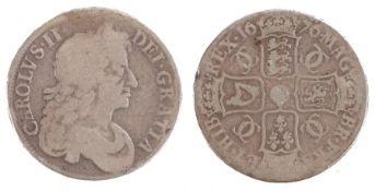 Charles II Crown, (1660-1685) OCTAVO, 1676 (S. 3358)