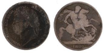 George IIII Crown (1820-1830) 1822 (S. 3805)