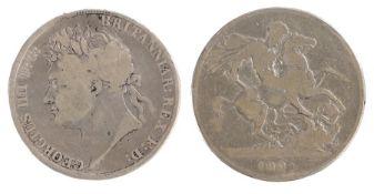 George IIII Crown (1820-1830) 1821 (S. 3805)