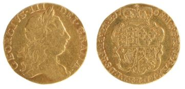 George III Guinea, (1760-1820) Third Laurette head, (S. 3727)