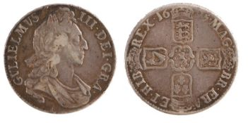 William III Crown, (1694-1702) First bust, 1694, (S. 3470)