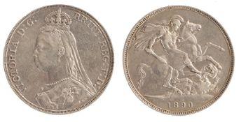 Victoria Crown (1837 - 1901), 1890 (S. 3921)