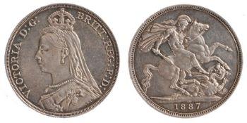 Victoria Crown (1837 - 1901), 1887 (S. 3921)