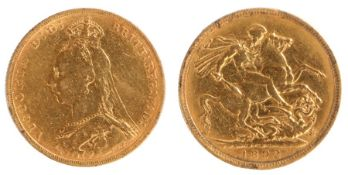 Victoria Sovereign, (1837-1901) 1892, St George and the Dragon