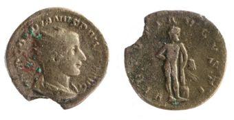 Roman silver Antoninianus, Gordian III, (AD 238-244)