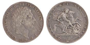 George III Crown (1760-1820) 1818 LIX (S. 3787)
