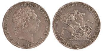 George III Crown (1760-1820) 1819 LIX (S. 3787)