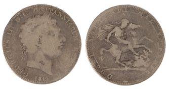 George III Crown (1760-1820) 1819, (S. 3787)