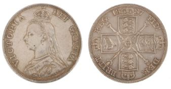 Victoria Double Florin (1837-1901) 1887, (S. 3923)