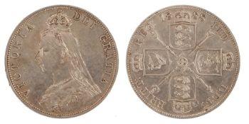 Victoria Double Florin (1837-1901) 1888, (S. 3923)