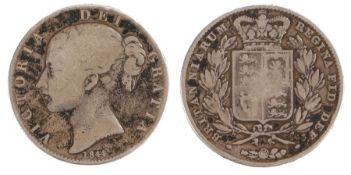 Victoria Crown (1837-1901) Young head coinage, 1844, (S. 3882)