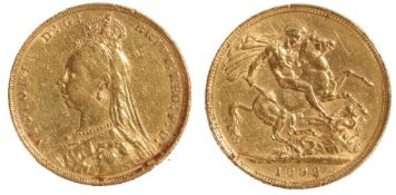 Victoria Sovereign, 1892, St George and the Dragon