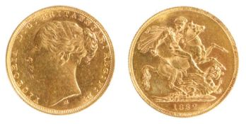 Victoria Sovereign, (1837-1901) 1882, St George and the Dragon
