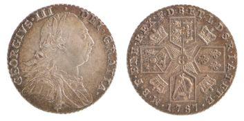 George III Shilling, (1760-1820) Shilling 1787, (S.3743)
