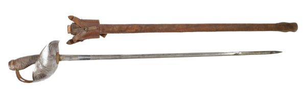 1912 Pattern Cavalry Officers Sword by Robert Mole & Sons, Birmingham, same basic form as the 1908