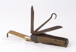 Early 19th Century combination pocket knife