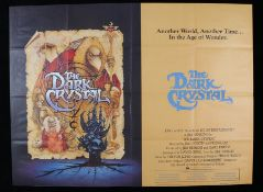 "The Dark Crystal (1982) - British Quad film poster, designed by Richard Amsel, folded, 30"" x 40"""