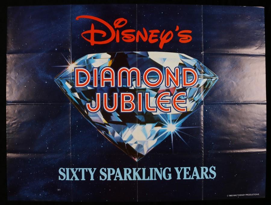 """Lot 43 - Diamond Jubilee (1983) - British Quad film poster, folded, 30"""" x 40"""""""