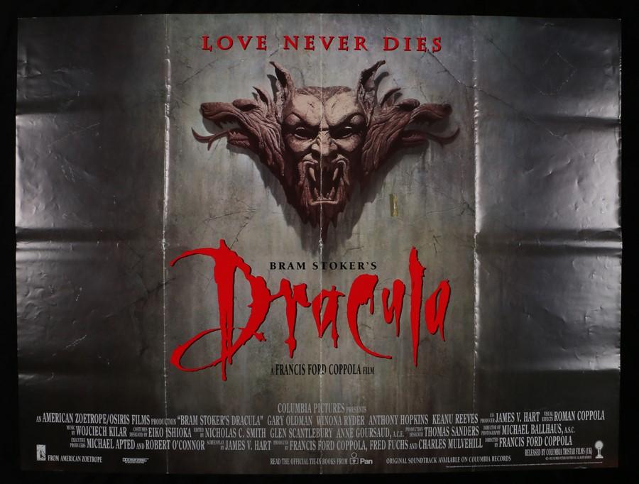 Lot 7 - Bram Stoker's Dracula (1992) - British Quad film poster, starring Gary Oldman, Winona Ryder, Anthony