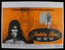 Audrey Rose (1977) - British Quad film poster, starring Marsha Mason and Anthony Hopkins, folded,