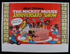 "The Mickey Mouse Anniversary Show (1968) - British Quad film poster, folded, 30"" x 40"""