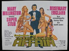 Confessions from the David Galaxy Affair (1979) - British Quad film poster, starring Mary Millington