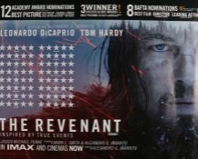 The Revenant (2015) - British Quad film poster, starring Leonardo DiCaprio, Tom Hardy and Will