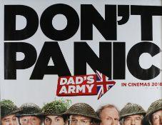 Dad's Army (2016) - British Quad film poster, starring Toby Jones, Bill Nighy and Catherine Zeta-