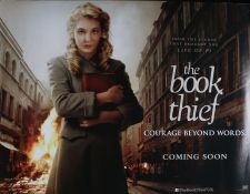 The Book Thief (2013) - British Quad film poster, starring Geoffrey Rush, Emily Watson and Sophie